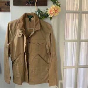 NWT Ralph Lauren Cotton Canvas Jacket